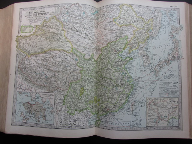 1897 Map of the Chinese Empire