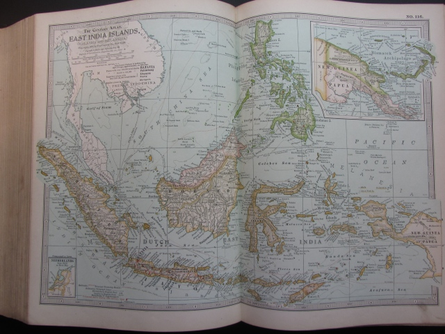 1897 Map of East India Islands