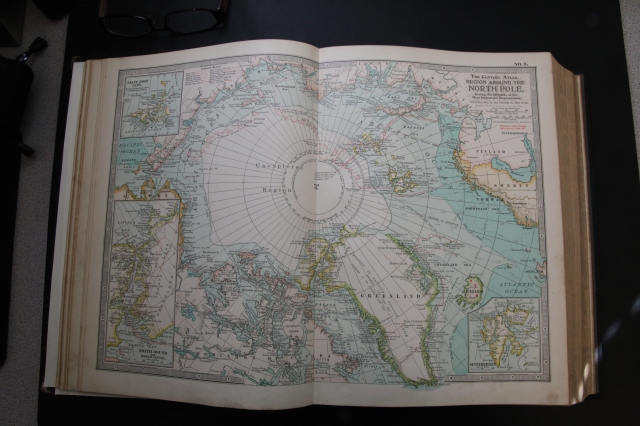 1897 Map of the North Pole